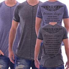 Redbridge by Cipo & Baxx Herren Oberteil T-Shirt INDIGO/ANTHRAZIT