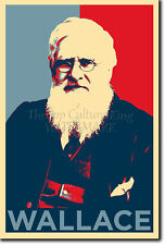 ALFRED RUSSEL WALLACE - HOPE POSTER - PHOTO PRINT ORIGINAL ART GIFT RUSSELL