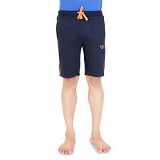 Bongio Mens Cotton Navy Casual Shorts_RMS5A3002A