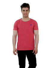 Paani Puri Clothing Polka Print Red Cotton Blended Men's T-Shirt _ 65