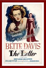 The Letter      Movie Posters Classic & Vintage Cinema