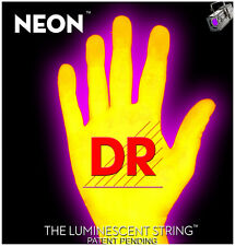 DR Strings HiDef Neon Yellow 7-String