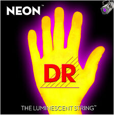 DR Strings HiDef Neon Yellow 4-String Bass