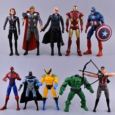 "Marvel Avengers Superhero Action Figures 6"" toys Spiderman Hulk Captain America"