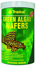 TROPICAL GREEN ALGAE WAFERS  sinking wafers with spirulina for algae eaters
