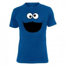 Sesame Street T-Shirt Men - SESAME STREET MONSTER - Royal