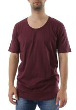 iriedaily T-Shirt Men LONG SUBNECK Red Wine