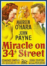 Miracle On 34th Street     1950's Movie Posters Classic & Vintage Cinema