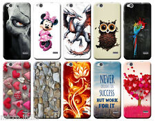 For Reliance Digital LYF Water 2 Designer Printed Soft Back Cover Case