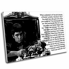 Scarface Canvas Wall Art Print Framed Picture PREMIUM QUALITY