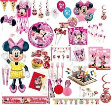 Minnie Maus Party Minni Mouse Geburtstag Party Deko Feier Folienballon Kerzen