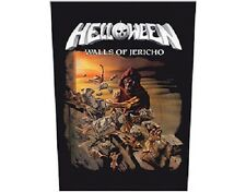 HELLOWEEN - WALLS OF JERICHO LOGO - OFFICIAL GIANT SEW-ON BACKPATCH patch