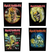 IRON MAIDEN - OFFICIAL SEW-ON BACKPATCH  patch killers live after death logo