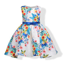 Vestito Bambina Abito Principessa Flower Girl Summer Princess Dress DG0037