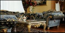 EXCLUSIVE BAROQUE STYLE SOFAS SET - ARMCHAIRS  + SOFA 3 + SOFA 2 + TABLE