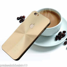 New Aluminium Metal Brushed 3D Hard Back Cover for Apple iPhone