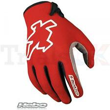 Hebo NANO PRO Glove in Red for Trials Enduro Trail MX Offroad