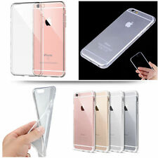 New Ultra Thin Slim TPU Gel Skin Cover Case for Apple iPhone 7 7Plus 6/6s & 5/5s