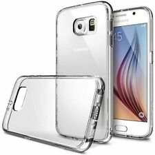 For New Samsung Galaxy S6 S7 S7Edge S8 S8+ S5 CLEAR Thin Transparent Jelly Case