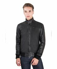 Giacca in Pelle Uomo Men's Leather Jacket Homme Blouson en Cuir THIN - Giubbotto