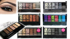 Technic 6 Shades Blendable Eyeshadow Palette Shimmer Matte Brush Smokey eye