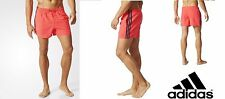 Uomo Slim fit Short da bagno 3-Stripes Costume Adidas Mare Piscina Sport AK1929