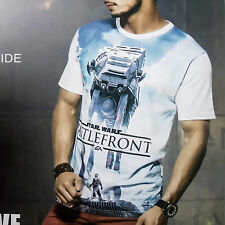 Printed TShirt For Mens Wear, Round Neck HalfSleeves Tshirt For Casual Wear