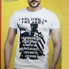 Designer Printed Mens Wear TShirt, Round Neck T-Shirt, Half Sleeves Cotton Tee
