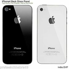 Apple iphone 4/4s back panel (black/White colour)