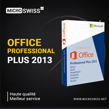 Office Professional Plus 2013 32/64 Bit 1PC + Media D'installation