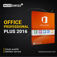 Office Professional Plus 2016 32/64 Bit 1PC + Media D'installation