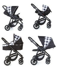 Baby pram Child buggy pushchair Travel system stroller 3in1 Carrycot Car seat