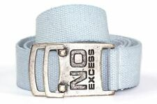 Cinturon No Excess Light Blue Hombre Talla única Azul Claro mens belt BNWT