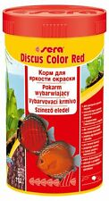 Sera Discus Color Red 100ml,250ml Color food for all reddish discus fish