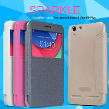 Original Nillkin Sparkle Series Flip Back Case Cover For Lenovo Vibe K5 K 5
