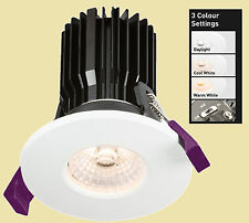Colour Temperature Adjustable 8w LED IP65 Fire-Rated Downlights WW,CWor DL Color