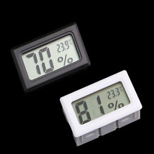 DIGITAL GROW TENT/ROOM HUMIDITY METER THERMOMETER HYDROPONICS HYGROMETER