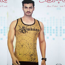 (Size-M-Chest-38 ) Printed Casual wear Sando, Cotton Fabric Sando (SKU-JB93157)