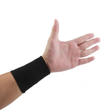 Elastic Wrist Hand Brace Support Carpal Tunnel Tendonitis Pain Relief Nude/Black