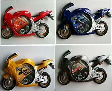 Motorbike / Motor Cycle Sports Racing  Wall Cock with 4 colours