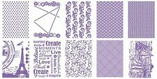 Couture Creations Embossing Folder The Ambassador Collection Collection