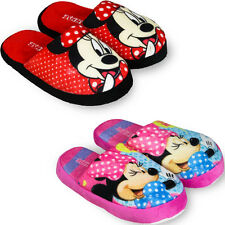 ♥DISNEY MINNIE MOUSE HAUSSCHUHE/SLIPPERS/♥GR:♥29/30♥31/32♥33/34♥NEU♥