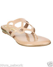 Siendo Desi Geometry Wedges Beige Slip-On