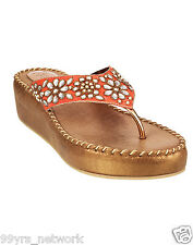 Siendo Desi Karla Platforms Antique Slip-On