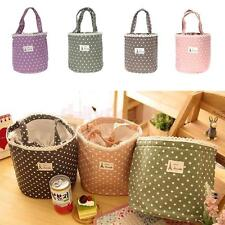 Insulated Storage Cooler Thermal Picnic Lunch Bag Travel Carry Tote Food Storage