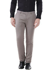J.Hampstead Slim Fit Men's Beige Formal Trouser
