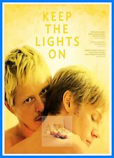 Keep The Lights On  Gay Themed Movie Posters Vintage Cinema