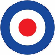 RAF Roundel Vinyl Stickers..Choice Of Sizes.. Mod Scooter The Who Vespa Decals