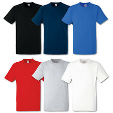 5er/10er Fruit of the Loom T-Shirt Heavy Cotton Herren Shirts Schwere Qualität
