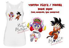 VESTIDO PLAYA ARALE Y GOKU DRAGON BALL beach dress ES